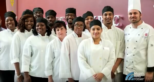Chef Timothy Tucker and the Culinary Arts Training Program on Megyn Kelly Today
